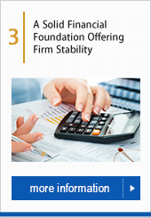 A Solid Financial Foundation Offering Firm Stability